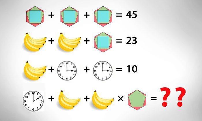Ba bài toán đố thử thách khả năng suy luận