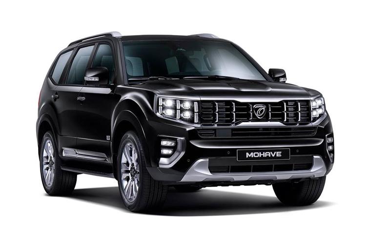 Kia Mohave - SUV mới lộ diện trước ngày ra mắt