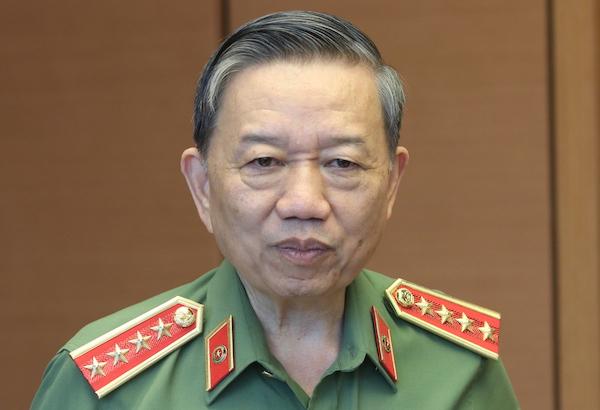Bộ trưởng Công an Tô Lâm. Ảnh: Võ Hải