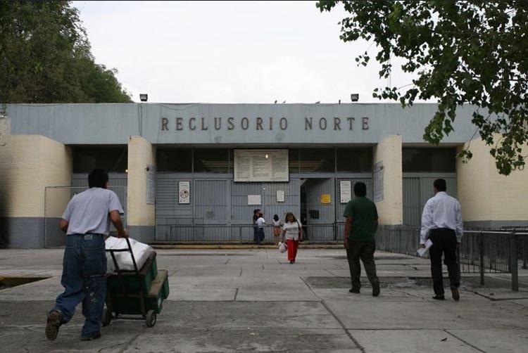 Nhà tù Reclusorio Norte. Ảnh: Guillermo Perea/Cuartoscuro.