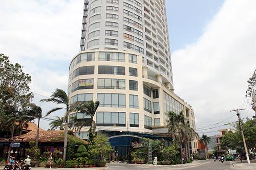 Khách sạn Bavico ở Nha Trang, nơi ông Sử điều hành đường dây mại dâm. Ảnh: An Phước