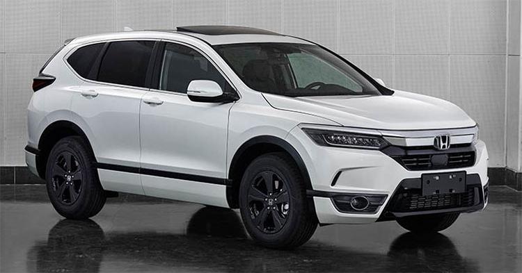 Honda Breeze lộ diện, SUV mới của Honda tại Trung Quốc.