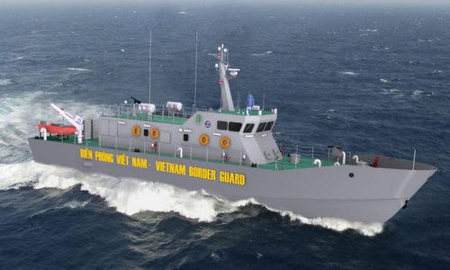 Thiết kế tàu tuần tra cho Biên phòng Việt Nam. Ảnh: L&T.