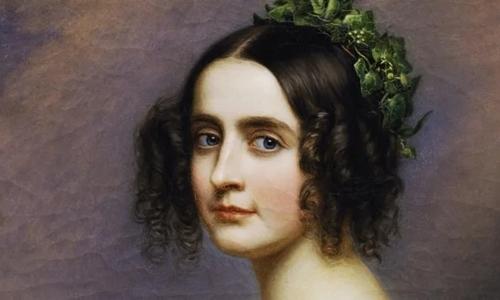 Tranh chân dung Công chúa Alexandra Amelie. Ảnh: History.