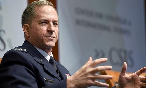 Tướng David Goldfein, Tham mưu trưởng không quân Mỹ. Ảnh: AP.