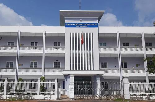 Cơ quan Thanh tra Sở Giao thông Vận tải tỉnh An Giang. Ảnh: An Phú.