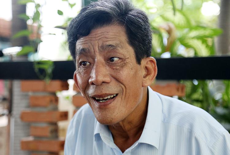 Ông Lê Văn Lung. Ảnh: Trung Sơn.