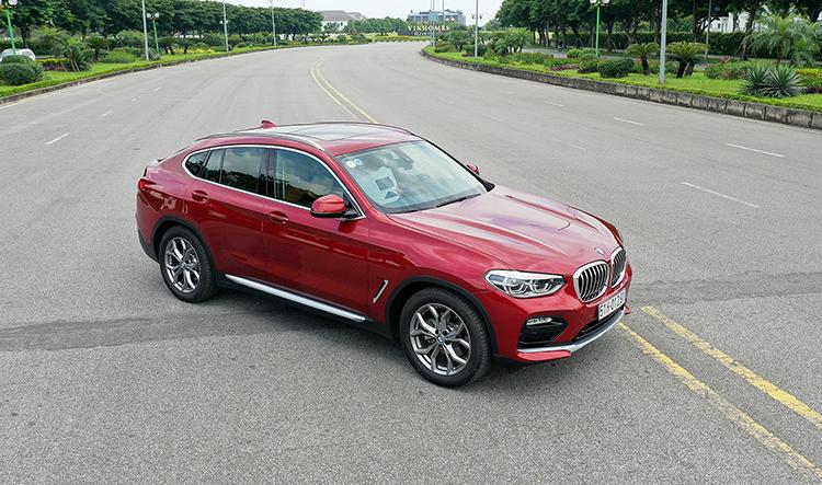 BMW X4 có giá 2,959 tỷ đồng tại Việt Nam. Ảnh: Giang Huy.