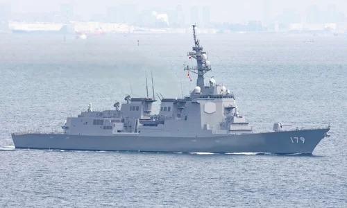 Một tàu khu trục lớpMaya của Nhật. Ảnh: Twitter.