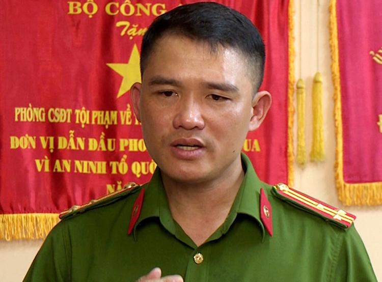 Thượng tá Nguyễn Đăng Nam. Ảnh: Văn Điệp.