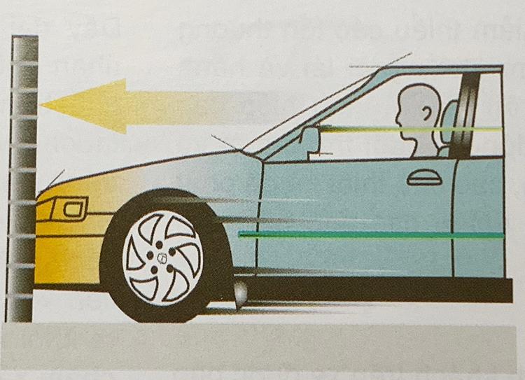 Ôtô đâm như thế nào thì bung hoặc không bung túi khí? - 1