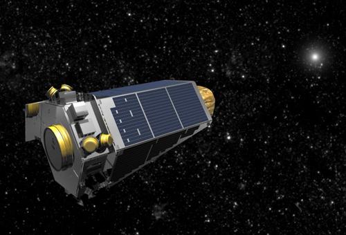 Kính viễn vọng không gian Kepler của NASA. Ảnh: Business Insider.