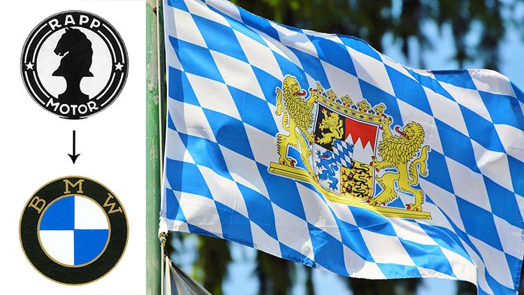 Logo BMW xuất phát từ Rapp Motor và cảm hứng màu cờ xứ Bavaria.