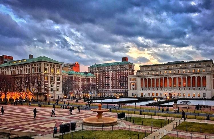Khuôn viên Đại học Columbia ở New York. Ảnh: FB/Columbia University in the City of New York