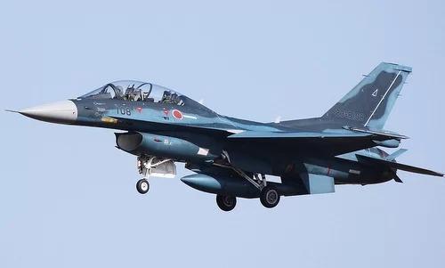 Một tiêm kích F-2 của không quân Nhật. Ảnh: Airliners.