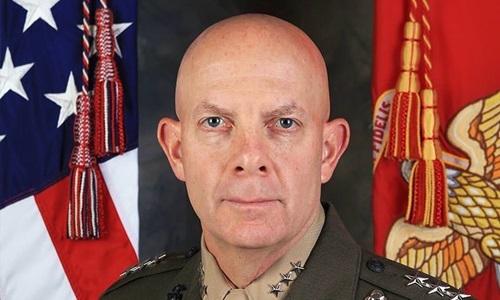 Tham mưu trưởng Thủy quân lục chiến Mỹ David Berger. Ảnh: Marine Corps Times.