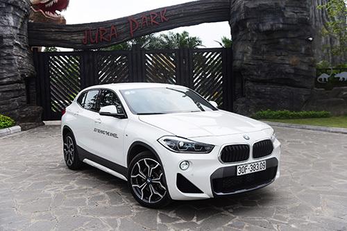 BMW X2 là người đặc biệt trong phân khúc SUV. Ảnh: Giang Huy.