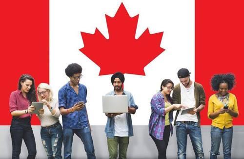 Sinh viên quốc tế theo học tại Canada. Ảnh: Uscollegeinternational