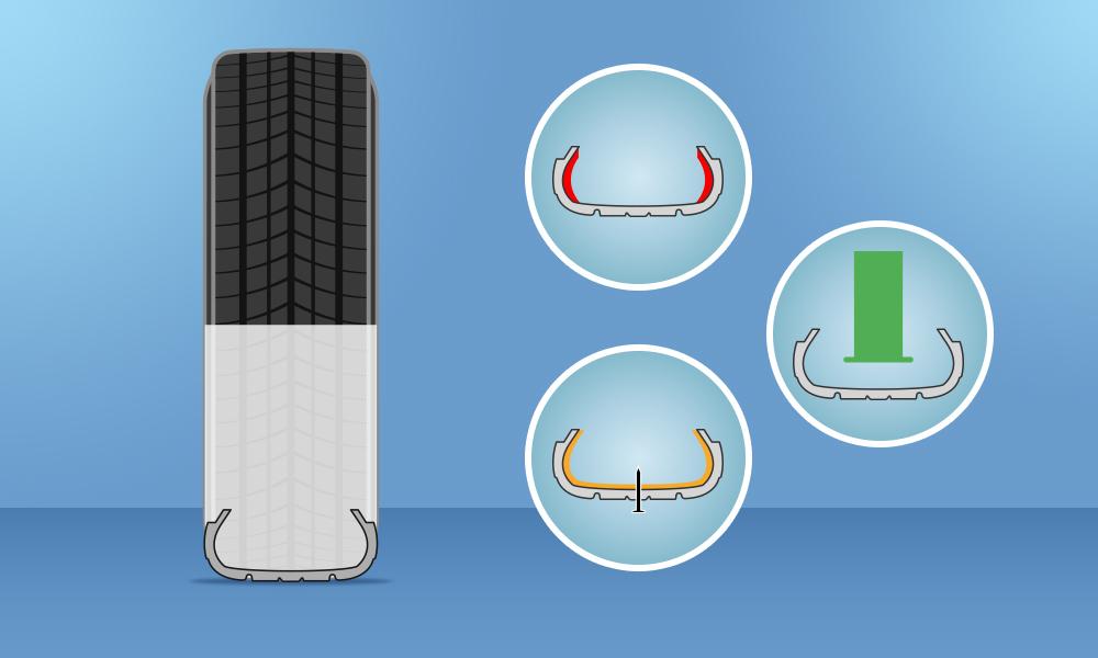 Những điều cần biết về lốp 'chống xịt' run-flat trên xe sang