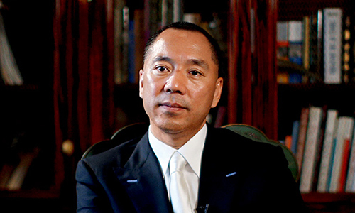 Tỷ phú Guo Wengui. Ảnh: Caixin Global