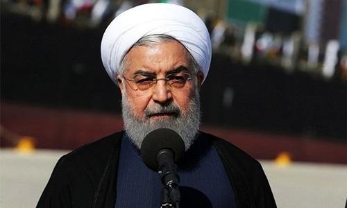 Tổng thống Iran Hassan Rouhani. Ảnh: AFP.