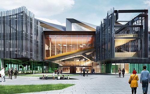 Tòa nhà biểu tượng của Đại học Monash. Ảnh:Monash.
