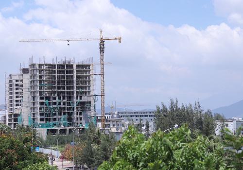Dự án Sunrise Bay đang dừng triển khai. Ảnh: Nguyễn Đông.