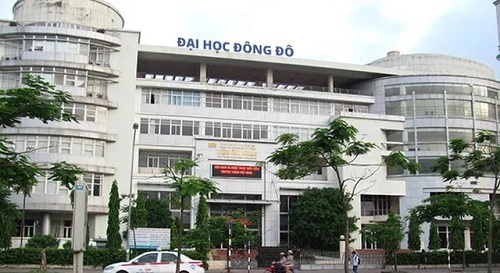Đại học Đông Đô, Hà Nội. Ảnh: Fanpage Đại học Đông Đô