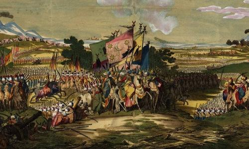 Quân Ottoman trong cuộc chiến với Áo. Ảnh: War History.