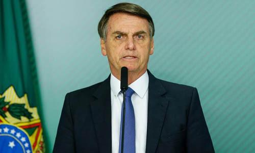 Tổng thống Brazil Jair Bolsonaro. Ảnh: Reuters.