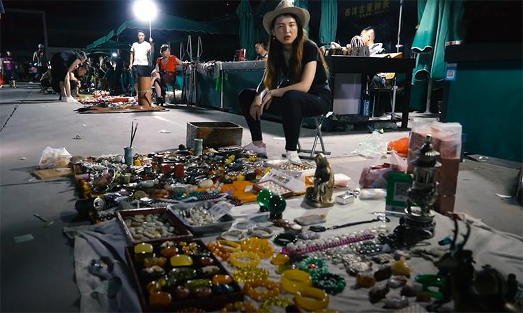 Chợ trời ban đêm cuối cùng còn sót lại ở Bắc Kinh