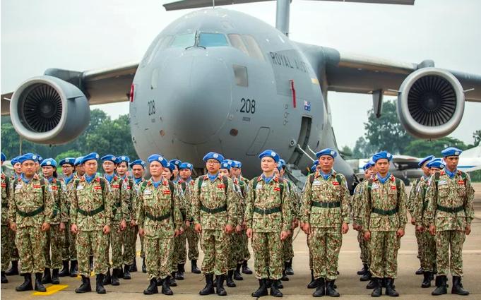 Australia giúp chở bệnh viện dã chiến Việt Nam đến Nam Sudan
