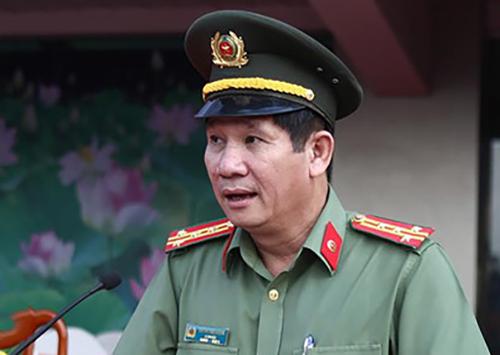 Đại tá Huỳnh Tiến Mạnh. Ảnh: An Ninh Hải Phòng.
