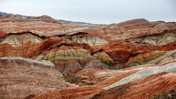 Địa mạo sa thạch hàng triệu năm tại Trung Quốc