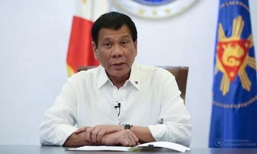 Duterte cắt ngắn chuyến thăm tới Trung Quốc
