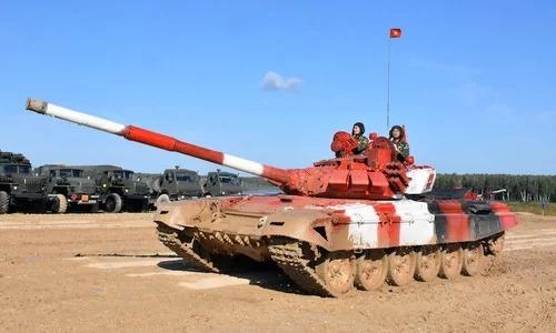 Đội tuyển xe tăng Việt Nam đạt tốc độ bất ngờ khi dự Army Games 2019
