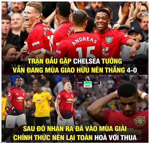 Mùa giao hữu đã qua rồi nhé Man Utd.