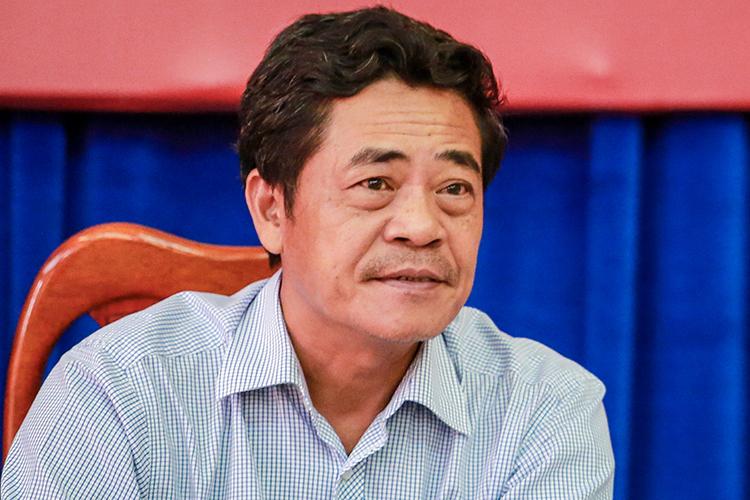 Ông Lê Thanh Quang tại họp HĐND tháng 12/2015. Ảnh: Thành Nguyễn