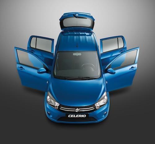[Caption]Celerio – Mẫu xe đô thị 5 cửa siêu thực dụng với khả năng tiết kiệm nhiên liệu ấn tượng