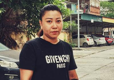 Hành khách Lê Thị Hiền. Ảnh: Người lao động