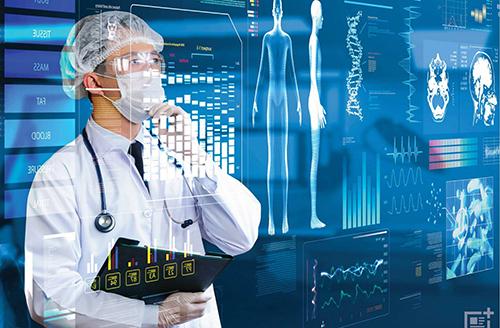 Trí tuệ nhân tạo được ứng dụng nhiều trong lĩnh vực y tế.