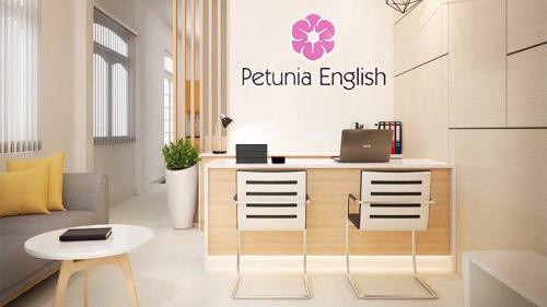 Một góc Trung tâm tiếng Anh Petunia English.