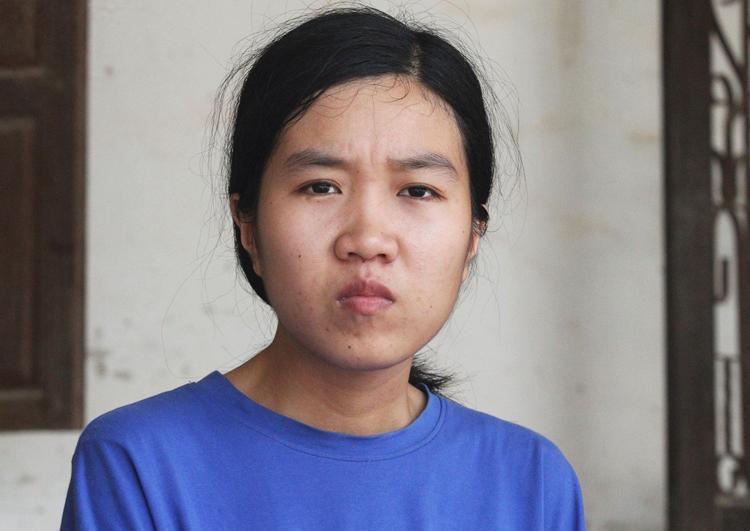 Nữ sinh Hồ Thị Thủy. Ảnh: Đức Hùng
