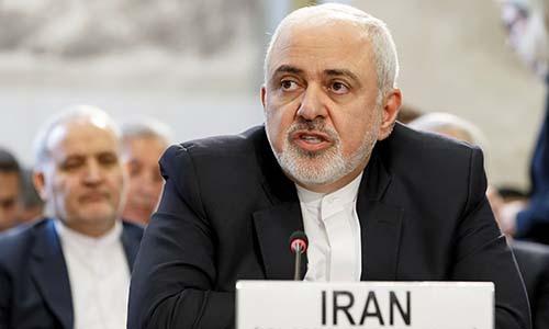 Ngoại trưởng Iran Mohammad Javad Zarif. Ảnh: Reuters.