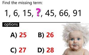 Năm câu đố toán học thử thách trí thông minh