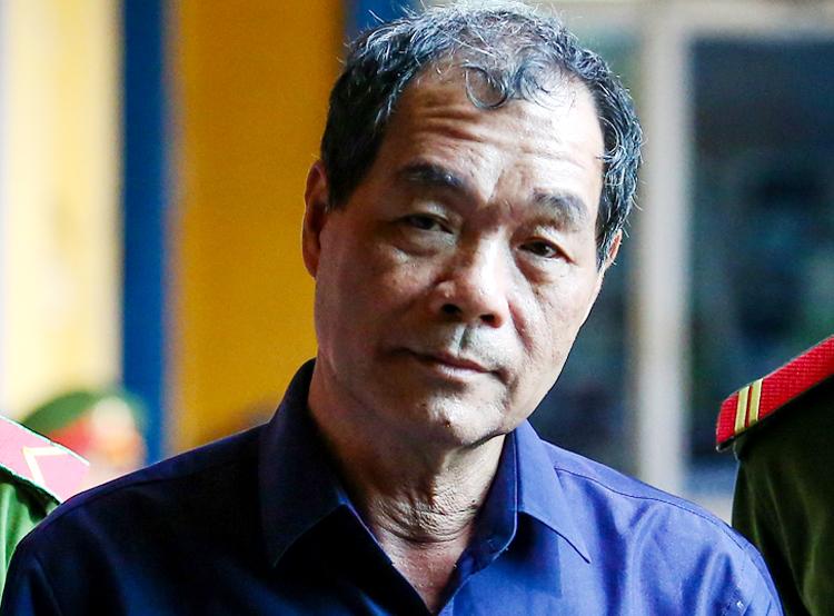 Trầm Bê ra tòa ngày 8/8/2018. Ảnh: Thành Nguyễn.