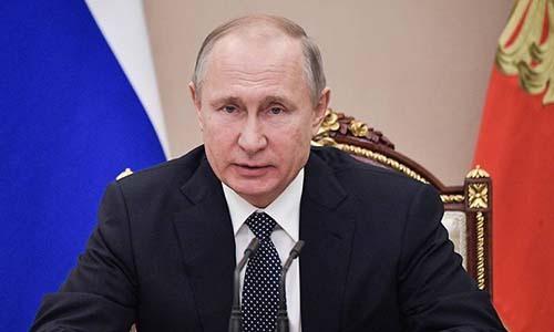 Tổng thống Nga Vladimir Putin. Ảnh: TASS.