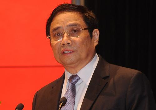 Ông Phạm Minh Chính, Trưởng Ban tổ chức Trung ương. Ảnh: VT.