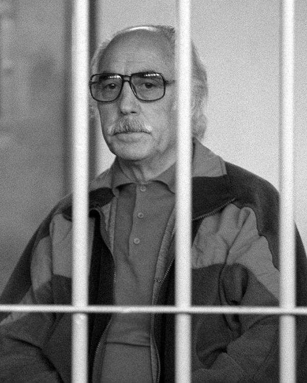 Giuseppe Calò phụ trách rửa tiền cho mafia. Ảnh: Giulio Broglio/AP.
