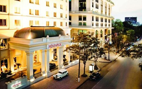 Khách sạn Movenpick (Hà Nội) là nơi tổ chức triển lãm du học.